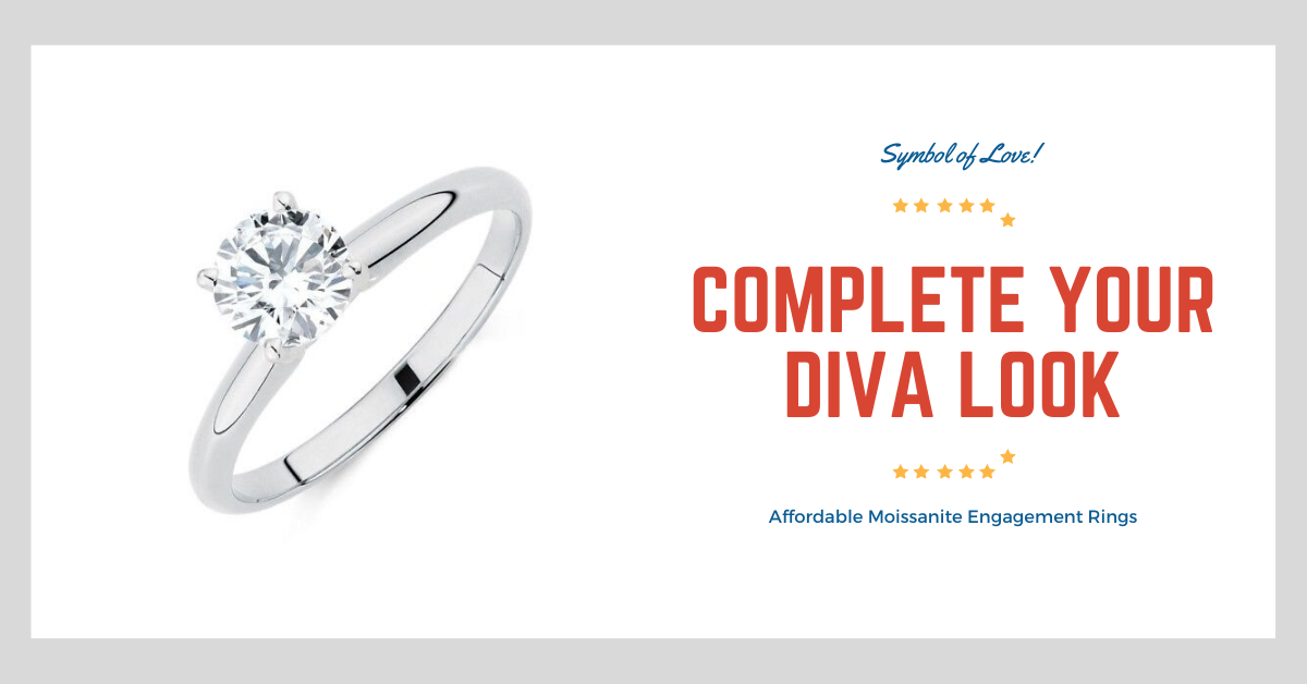 Affordable Moissanite Engagement Rings & Reviews